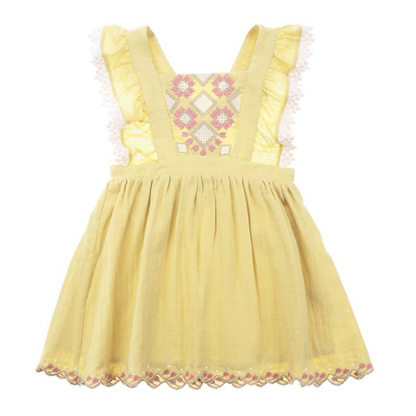 Pinea 코튼 원피스 dress Soft Yellow-LMB2AOPK746_SYE_LMK-S19-D0029-13