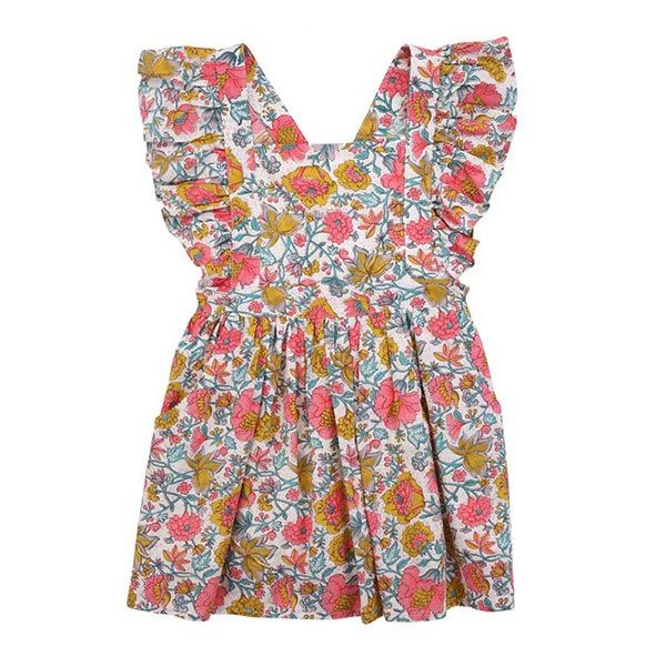 Varadero 코튼 원피스 dress Multi Flowers-LMB2AOPK750_MFW_LMK-S19-D0035-10