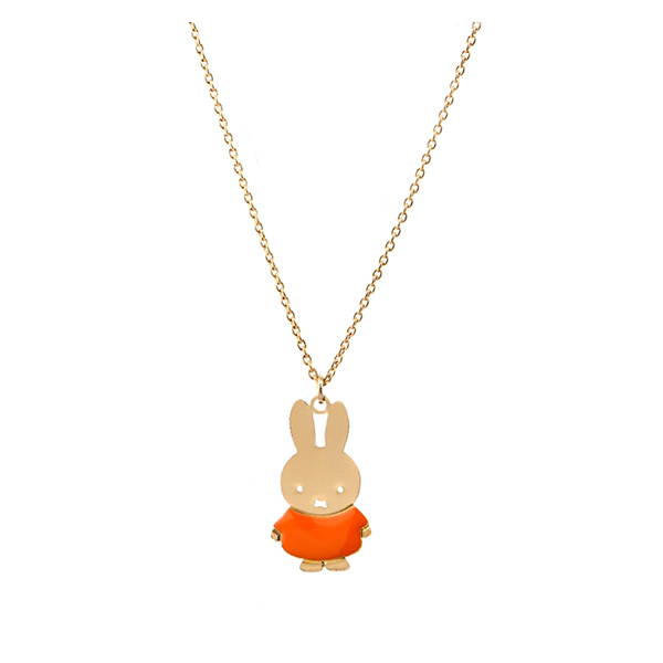 Miffy Necklace orange_4380_TT2001T17