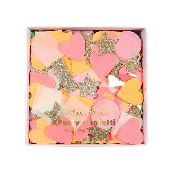 Pink Party Confetti Shapes_ME4740