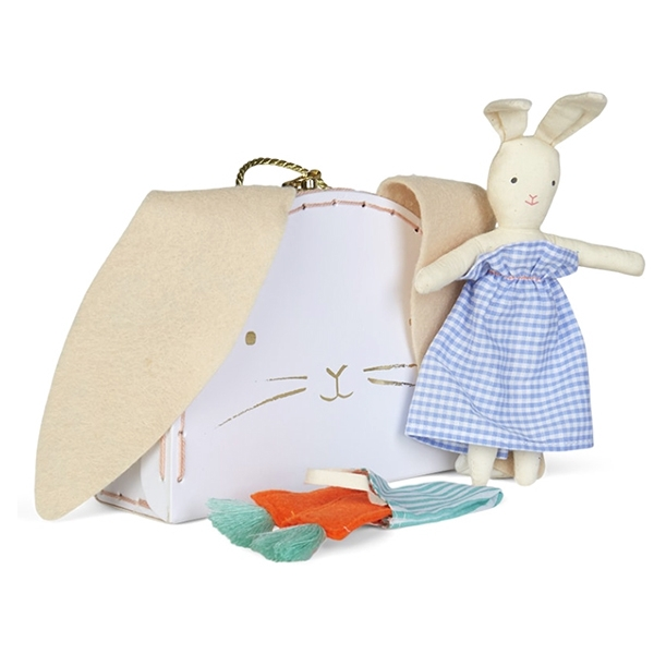 Bunny Mini Suitcase Doll_ME6280