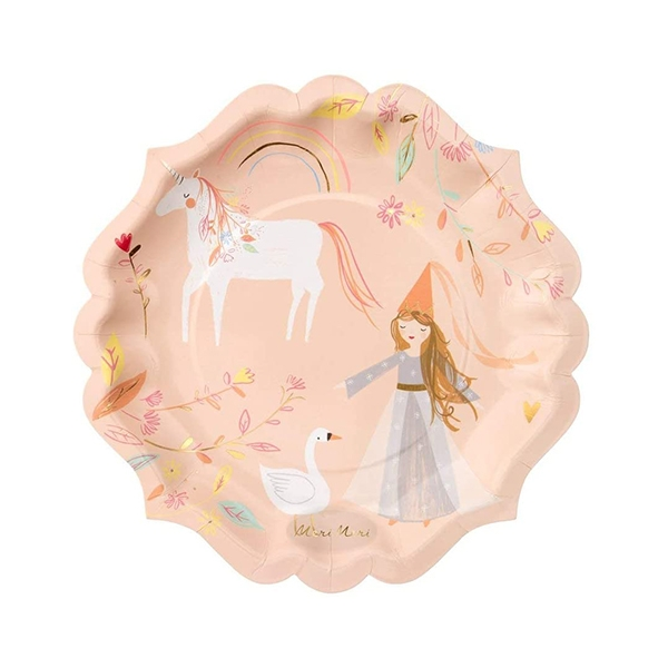 Magical Princess Large Plate (8개세트)_ME6366