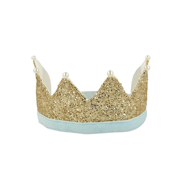 Gold & Pearl Party Crown _ME5110