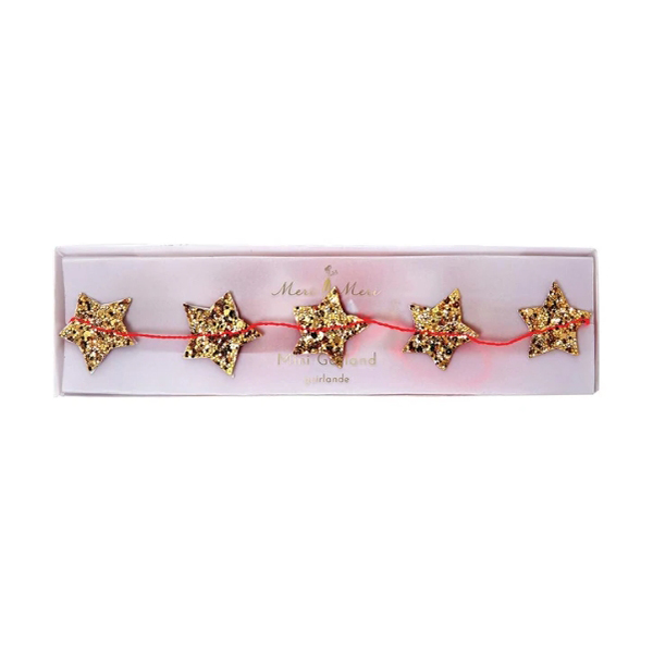 Gold Star Mini Garland_ME5101