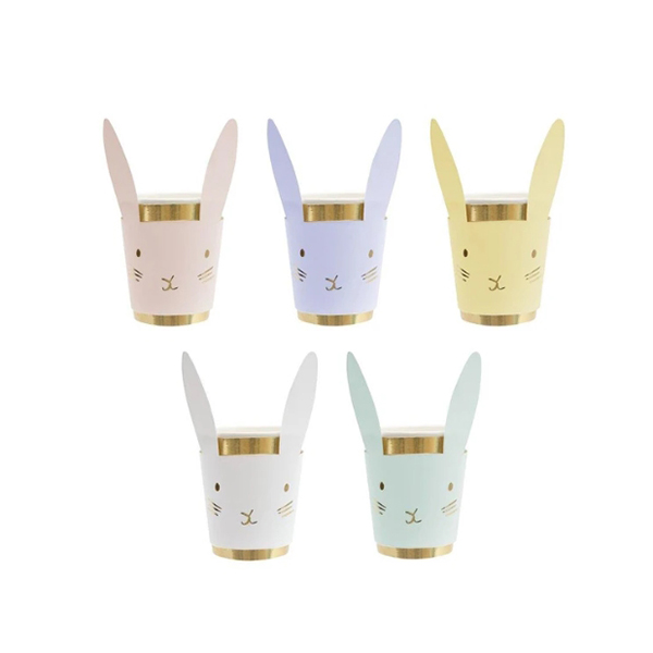Pastel Bunny Cups (8개세트)_ME5109