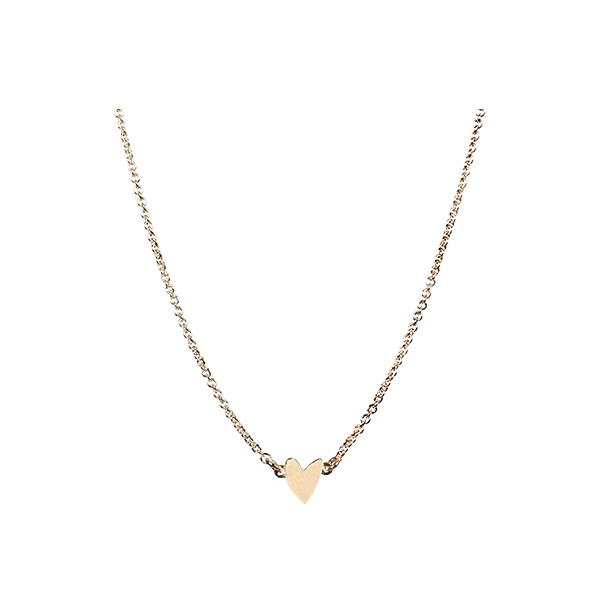 Golden Heart Necklace_TT2104T215