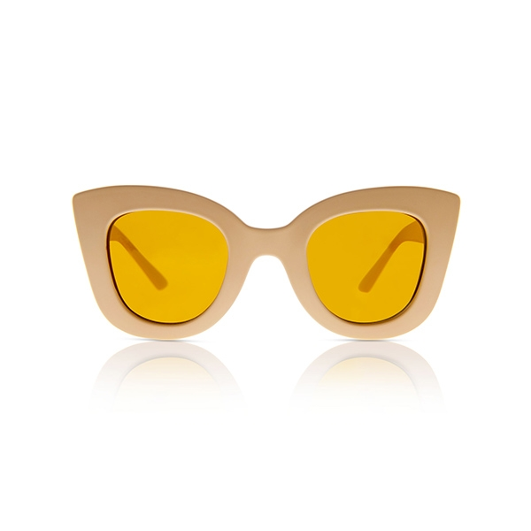 Cat Cat Sunglasses-Matte Banana _SDCCMB01T16