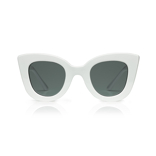 Cat Cat Sunglasses-White_SDCCWI11T16