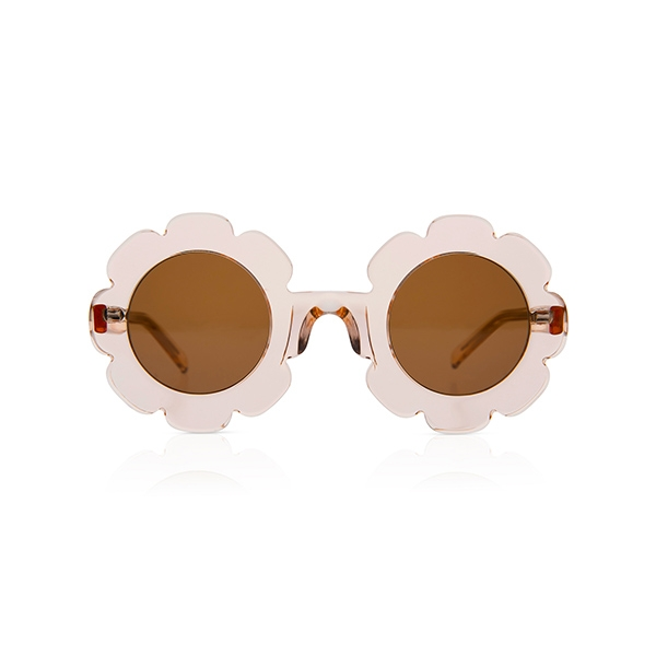 Pixie Sunglasses-Bio Transparent Rose_SDPBTS09T16