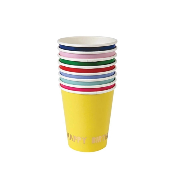Happy Birthday Party Cups (8개 세트)_ME132976