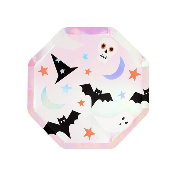 Halloween Icons Side Plates (8개 세트)_ME198207