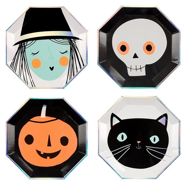 Halloween Character Large Plates (8개 세트)_ME179218