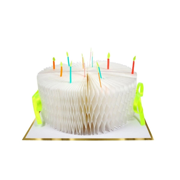 BIRTHDAY CAKE HONEYCOMB CARD_ME159508