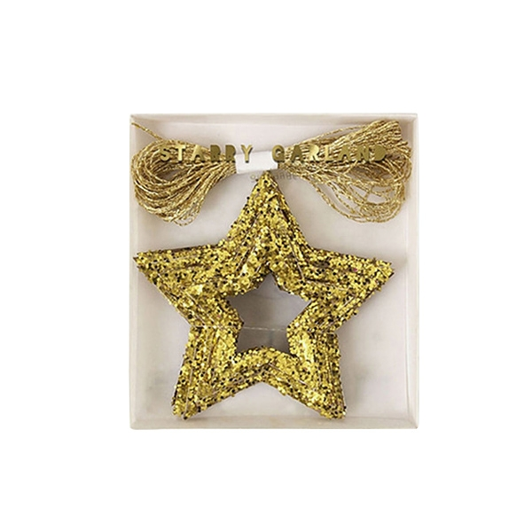 Double Gold Star Mini Garland_ME137782