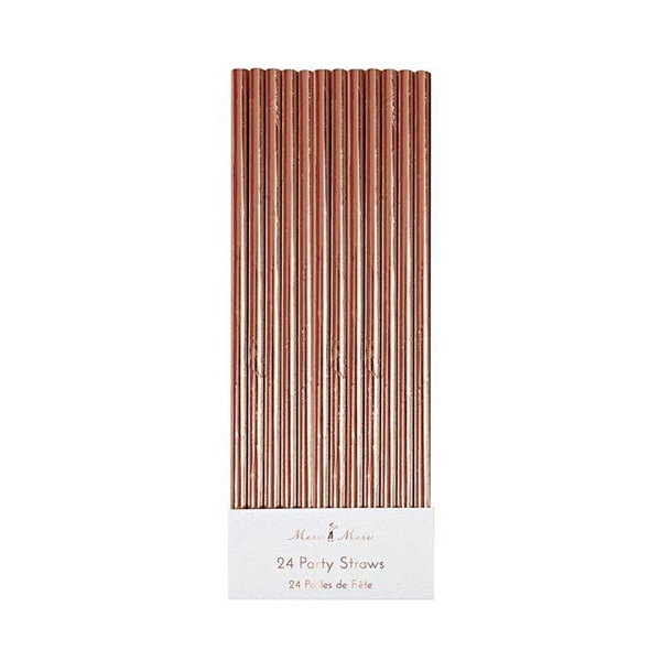 Rose Gold Foil Party Straws_ME148240