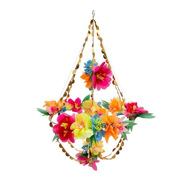 Bright Floral Blossom Chandelier_ME192211