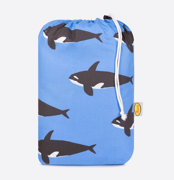 Anorak Orca Sleeping Bag (Blue)