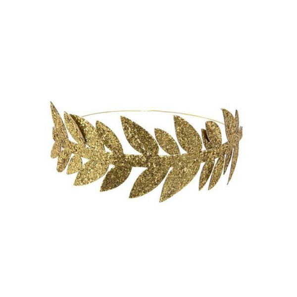 Gold Leaf Party Crowns(8개 세트)_ME187405