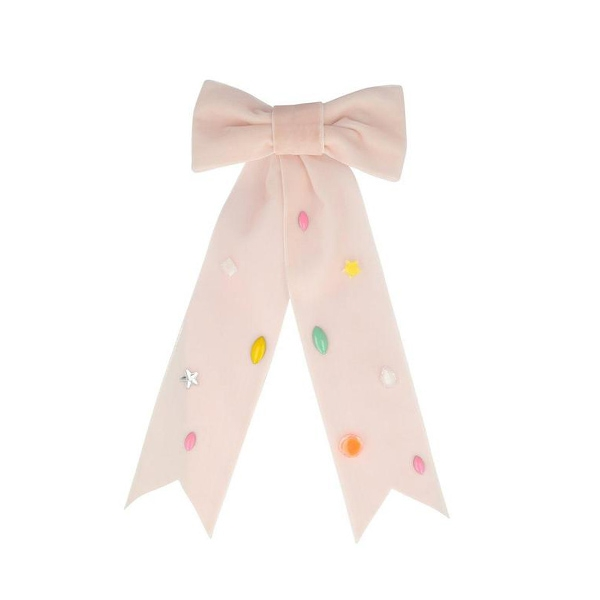 Pink Bow Hair Clip_ME199284