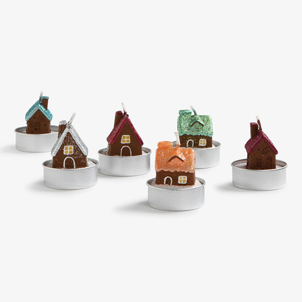Candle Gingerbread House(6개 세트)_KL20201104