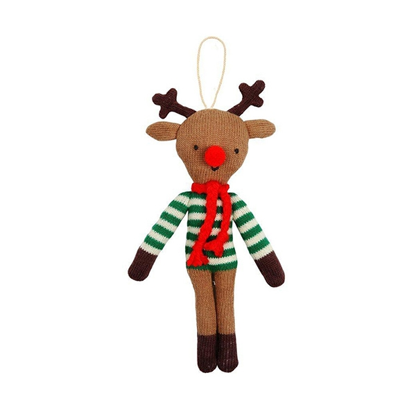Reindeer Knitted Ornament_ME163828