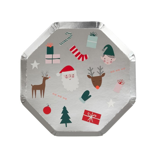 Festive Icons Side Plates(8개 세트)_ME196602