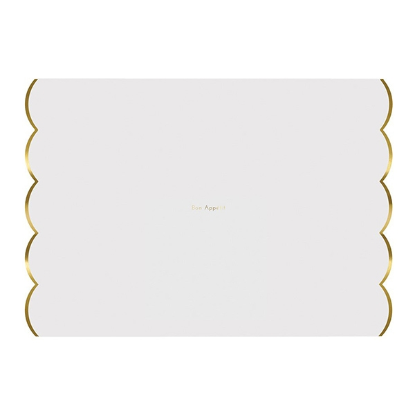 Gold Foiled Placemats(24개 세트)_ME451710