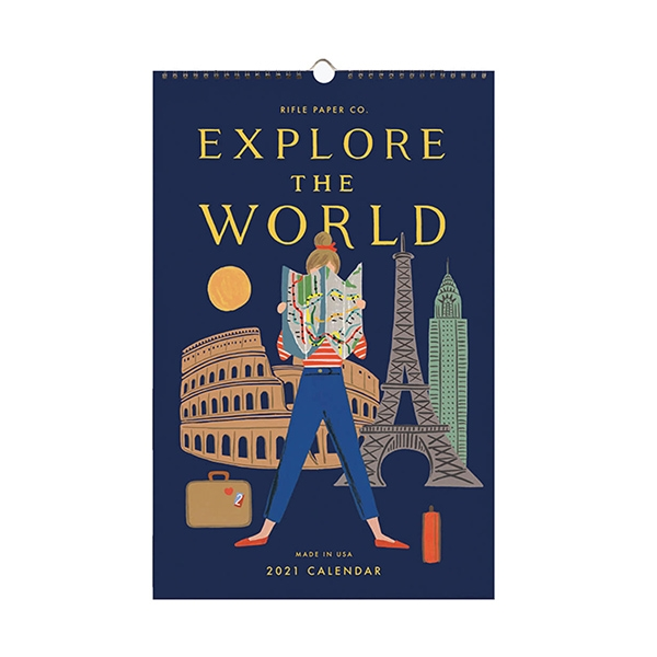 2021 Explore The World Wall Calendar_RPCAL058