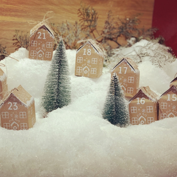 Gingerbread House Make Your Own Advent Calendar(24개 세트)_LS512GGP