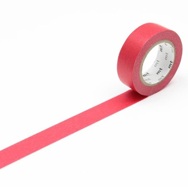 MT Masking Tape Basic Red_MT01P181(1.5cm)