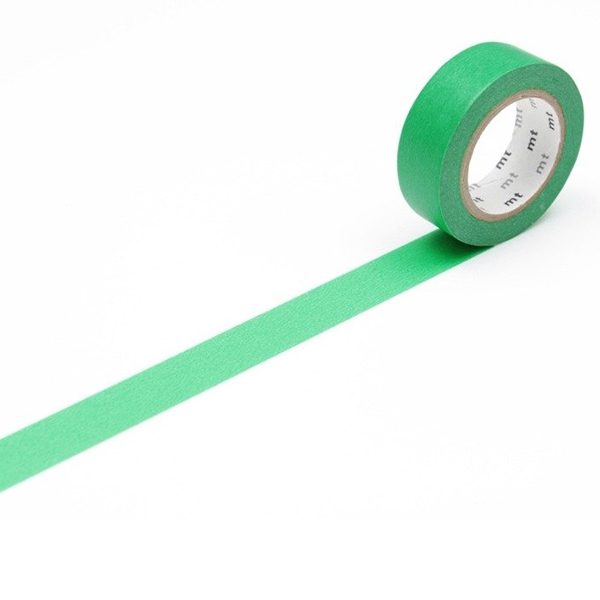 MT Masking Tape Basic Green_MT01P182(1.5cm)