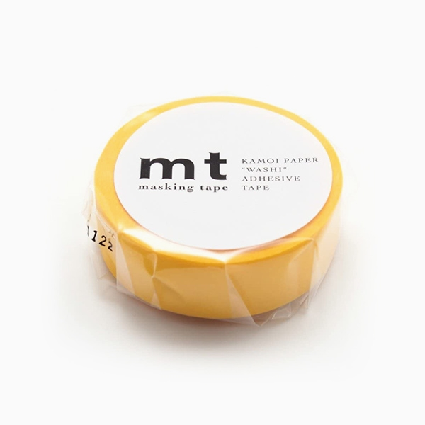 MT Masking Tape Basic Yellow_MT01P184(1.5cm)
