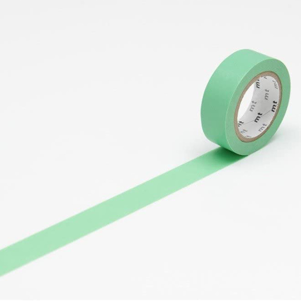 MT Masking Tape Basic Verdant Green _MT01P190(1.5cm)