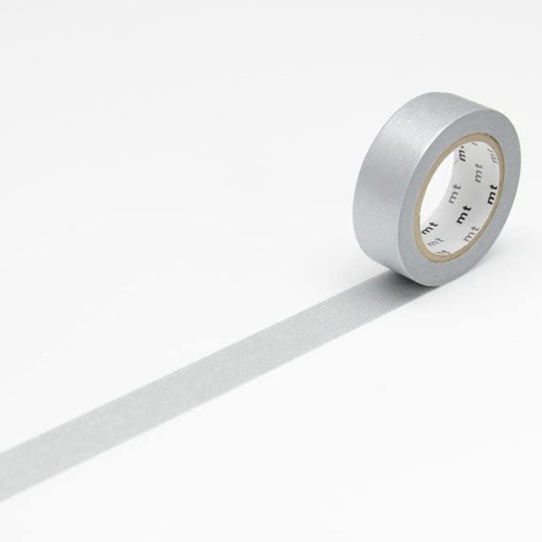 MT Masking Tape Basic Silver_MT01P206(1.5cm)