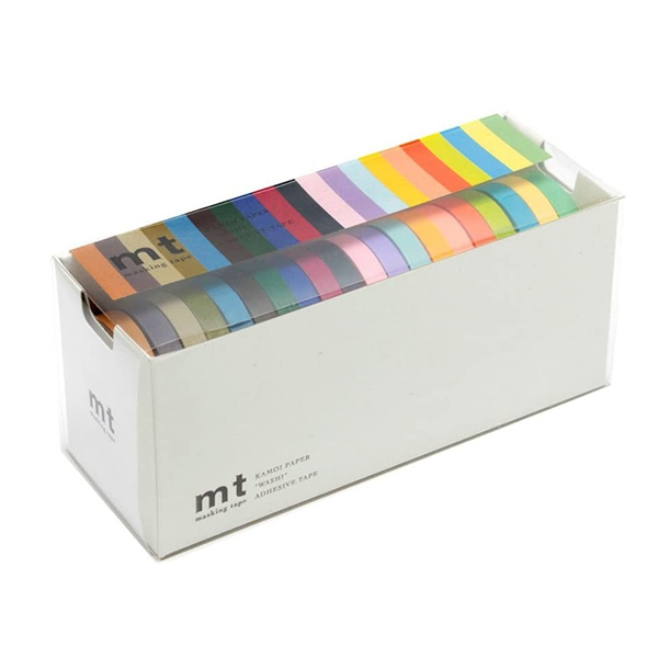 MT Masking Tape 20 SLIM COLORS_MT20P002(0.6cm)