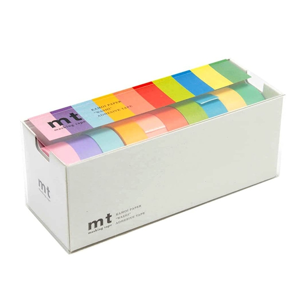 MT Masking Tape 10 LIGHT COLORS_MT10P003(1.5cm)