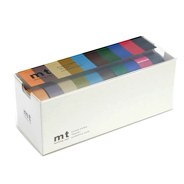MT Masking Tape 10 DARK COLORS_MT10P004(1.5cm)