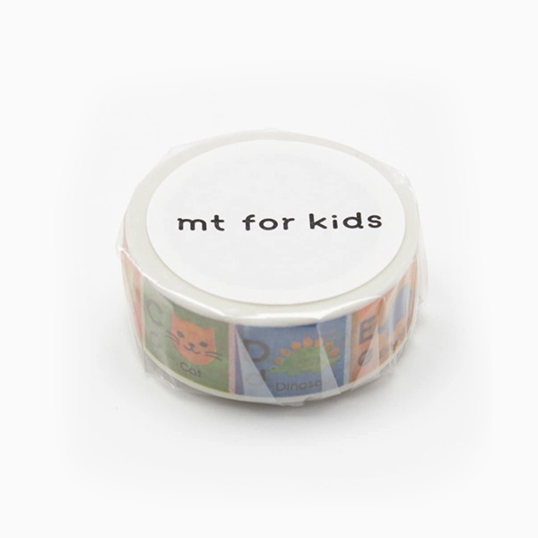 MT Masking Tape KIDS ALPHABET A-M_MT01KID013(1.5cm)