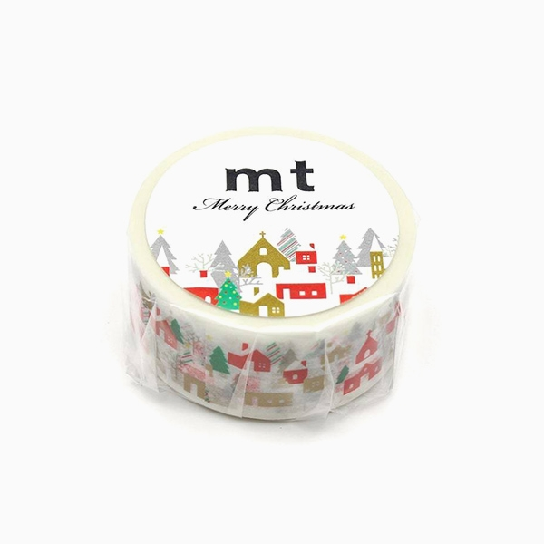 MT Masking Tape Christmas house in the forest_MTCMAS107(2cm)