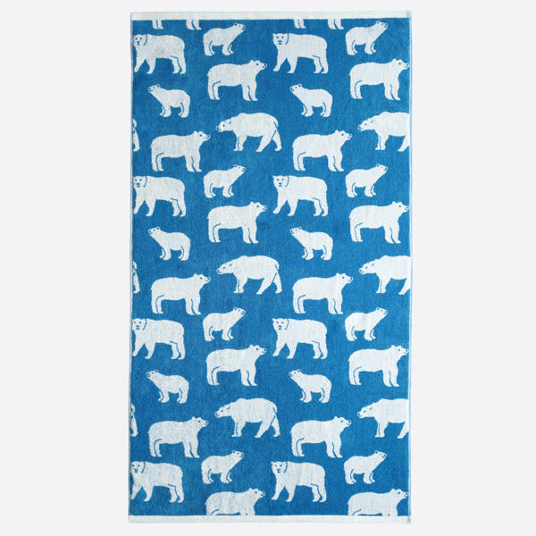 Anorak Polar Bears Towels