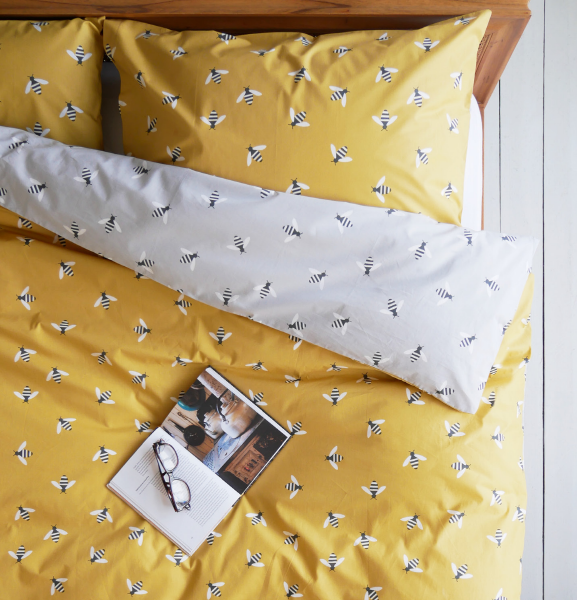 Anorak Buzzy Bee Organic Cotton Single Duvet Set