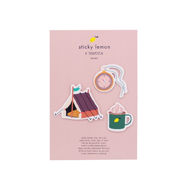 Sticky lemon X Novesta Patches card_RGAW_1801315
