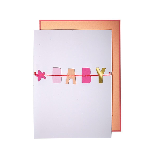 Baby Baby Garland Card(봉투 포함)_ME147187
