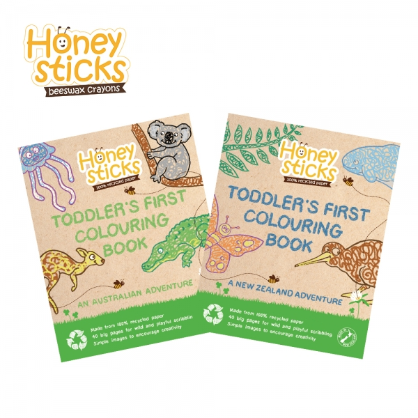HONEY STICKS 컬러링북
