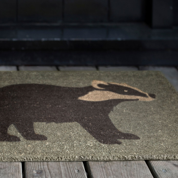 Anorak Badgers Doormat