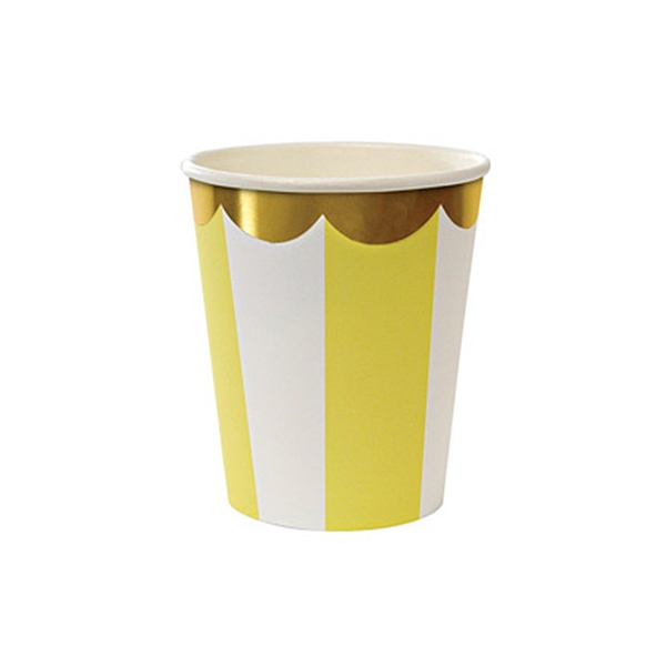 Toot Sweet Yellow Party Cups(8개 세트)_ME451320