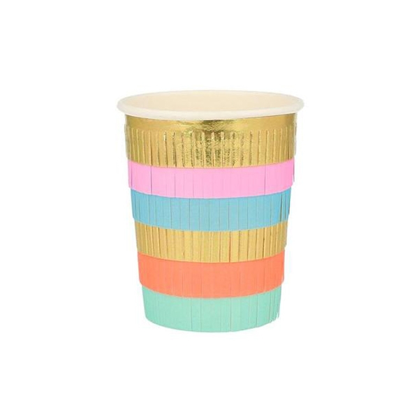 Circus Fringe Party Cups(8개 세트)_ME203087