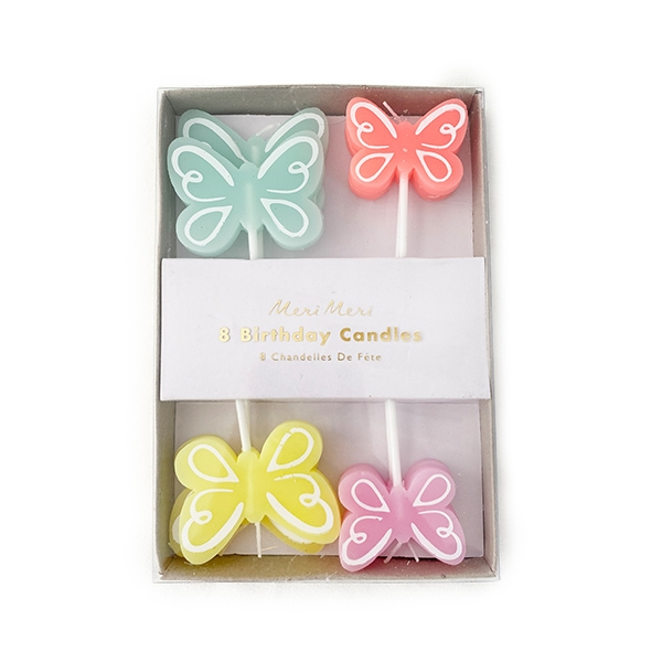 Butterfly Candle(8개 세트)_ME1013RV