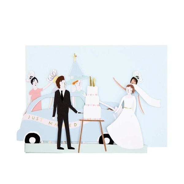 Just Married Concertina Card(봉투 포함)_ME193002